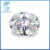 9X7mm는 모양이 얼음을 분쇄한 타원형 1.5 캐럿 아주 화려한 Moissanite 다이아몬드를 잘랐다