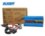 El cargador del cargador de batería de coche eléctrico de Suoer 24V 10A con el motor comienza la función (DC-2410A)
