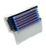 72core 4u ODF Faser-Optikverteilerkasten mit FC/Upc-Faser-Zöpfen und Adaptern