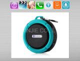 선물 직업적인 C6 휴대용 물 증거 무선 Bluetooth 스피커 붙박이 Micphone 지원 FM SD TF 카드 소형 Bluetooth 스피커