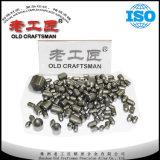Dígito binario de botón de la explotación minera del carburo cementado del tungsteno de China