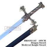 Espadas medievais Handmade da decoração das espadas das espadas da película 105cm HK81011au