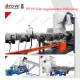 ペレタイジングを施すラインのための不用なプラスチックフィルムのペレタイザー機械