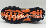 Pattini esterni di cuoio dei pattini di sicurezza del cuoio della pelle scamosciata di Nubuck di strato superiore (NL004)