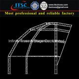 Truss de aluminio Cúpula estructura del techo Trinidad y Tobago