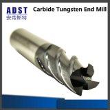 Fresa del carburo de 4 flautas para las máquinas herramientas CNC