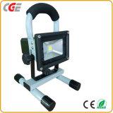 플러드 점화 세륨 승인되는 IP65 10W/20W/30W/50W 재충전용 LED 투광램프