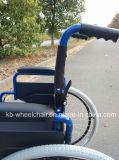 Homecare, fauteuil roulant manuel pliable et en acier