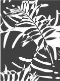 """نمو زاويّة 100% [كتّون بوبلين] [60إكس60] [90إكس88] 57/58 """" يطبع بناء رسم متحرّك زهرة"""