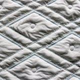 Línea azul colchón telas