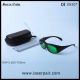 Laserpair에서 빨간 레이저 안전 고글/보호 유리의 높은 보호 수준