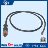 Certifié 4 faisceaux IP67 imperméabiliser connecteur mâle/femelle