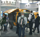 Diesel의 SDP660H Portable Screw Air Compressor Driven