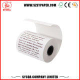 Alto papel termal popular Rolls de la blancura 65GSM