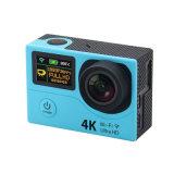 de 4K deporte DV/Camera de la acción ultra HD WiFi con la pantalla dual