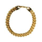 كبيرة حجم باع بالجملة رجال سعوديّة [22ك] نوع ذهب مجوهرات خطوة [شين برسلت]