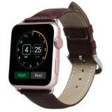 band van het Horloge van het Leer Integated van 22mm de Echte, de Echte Band van het Horloge van het Leer voor de Riem van het Horloge van de Appel