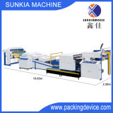 Punto ULTRAVIOLETA automático que barniza la máquina para el papel 80g~500g (XJU-1040SW)