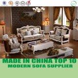 Luxuriöses französisches Rococo Art-Wohnzimmer-Gewebe-Chesterfield-Sofa