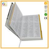 Libro di Hardcover di stampa, fabbrica professionale di stampa del libro