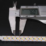1 lunghezza del taglio di scarsità dell'indicatore luminoso della corda di LED/Cut LED per utilizzazione elastica della striscia dell'indicatore luminoso di CC 12V 24V LED di RoHS del Ce di profilo del LED