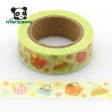 Diseño de moda bolso resistente al agua Manzawa Washi Tape