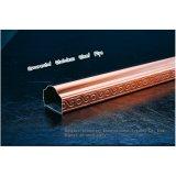 Tubo de acero inoxidable ornamental 304 con diseño del arte