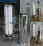 Filtro em caixa plissado PP/Pes/PTFE/Nylon do mícron para o tratamento da água