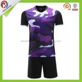 고품질 호리호리한 적합 축구 저어지는 스포츠 건조한 적합 t-셔츠 축구 제복 축구 셔츠 제작자 축구 저어지를 주문 설계한다