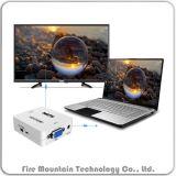 Vh01 1080P AudioVGA aan Adapter van de Doos van de Convertor van HDMI HDTV de Video