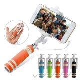 Миниая связанная проволокой складная ручка Selfie с пригонками кабеля в вашем карманн - штепсельная вилка & игра
