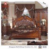 Ruifuxiang 고대 작풍 침실 가구 침대