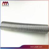 Ressort de tension de dépliement de pipe de fil de PVC