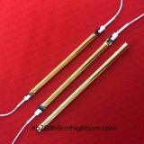Banhado a Ouro Baibo tubo de quartzo conexão eléctrica de aquecimento