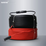 Uno a dos núcleos de Energía Solar Fotovoltaica DC Cable de cobre de 4mm2
