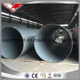 Tubo del espiral SSAW del acero de carbón con la capa de epoxy de Coating/3lpe según Awwa C210/DIN30670 para el transporte del agua