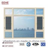 주문을 받아서 만들어진 새로운 디자인 알루미늄 여닫이 창 Windows