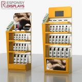 Vollkommenes Regal-Shampoo-Gebrauchsgut-Bildschirmanzeige-Gerät des Holz-4