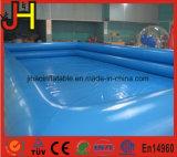 Плавательный бассеин двойных пробок раздувной пластичный для сбывания