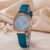 Reloj clásico de la voga del reloj del OEM del ODM del regalo de la manera ocasional de la mujer (Wy-127B)