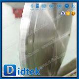 기어 액추에이터를 가진 Didtek 공장 가격 고성능 나비 벨브