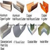カラー機械を形作る鋼鉄雨溝ロール