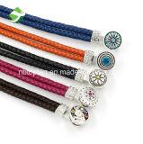 Braccialetti di cuoio punk del braccialetto Braided a più strati Handmade del Wristband della donna degli uomini