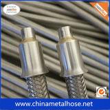 Boyau flexible d'acier inoxydable avec le raccord