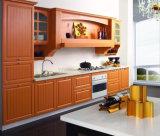 Keukenkast van China van de Keukenkasten van de Luxe van Prima de Stevige Houten