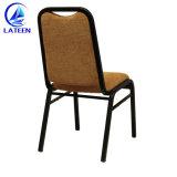Diseño moderno restaurante de metal pintado reunión usar silla de hierro