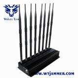 Brouilleur de VHF Lojack de fréquence ultra-haute de téléphone cellulaire du WiFi GPS de haute énergie