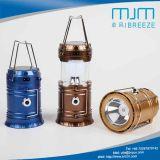 Camping Lanterna Recarregável Solar 5700 com lanterna LED
