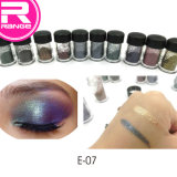 Venda quente Makeup Eyeshadow de alta pigmentação pigmento Eyeshadow pó solto, Eyeshadow holográfico