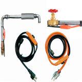 cabo de aquecimento da tubulação de água de 80FT com o termostato da temperatura para o mercado de America do Norte